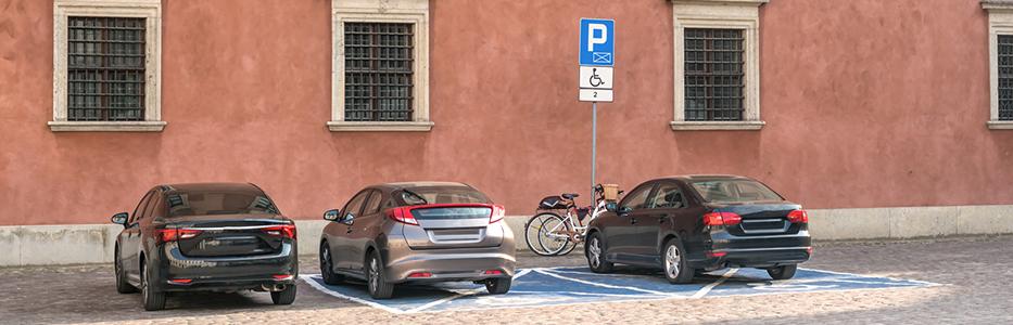 Amende pour stationnement sur une place handicapé