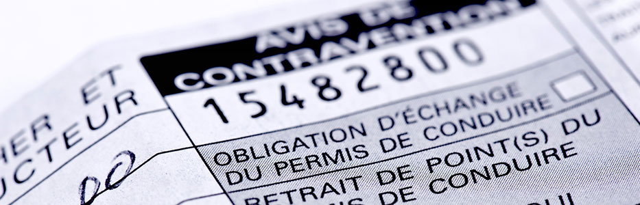 Classes de contravention