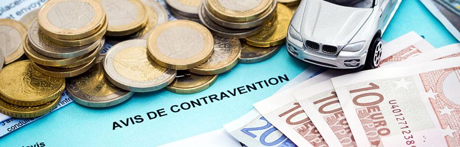 Payer une contravention